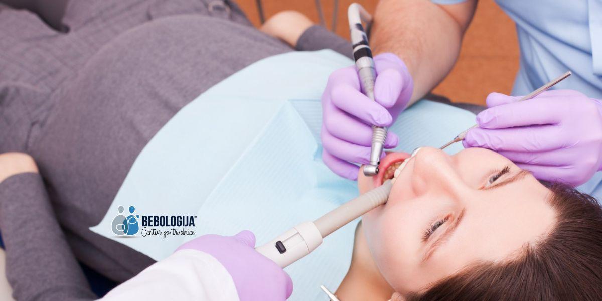 Poseta stomatologu i tokom trudnoće